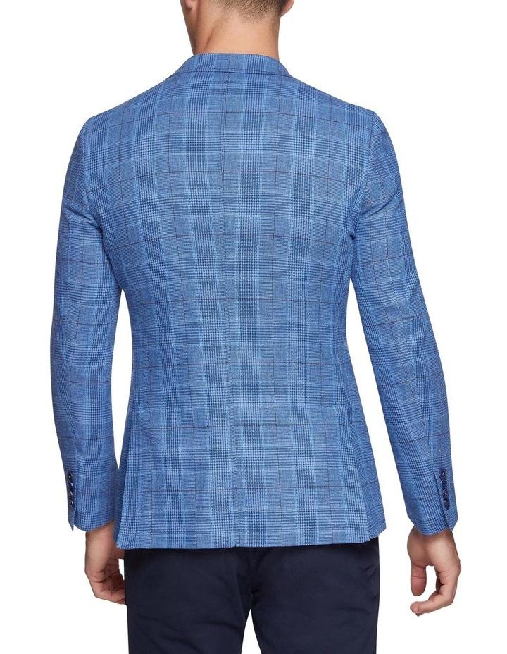 Blake Linen Cotton Checked Blazer X image 3