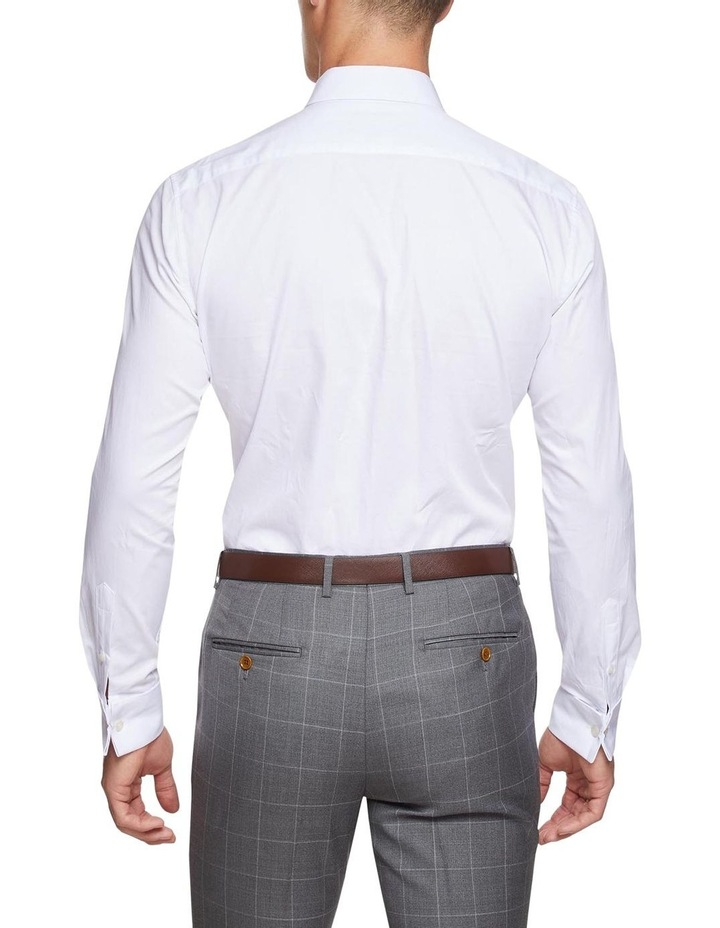 Islington French Cuff Dobby White Shirt image 3