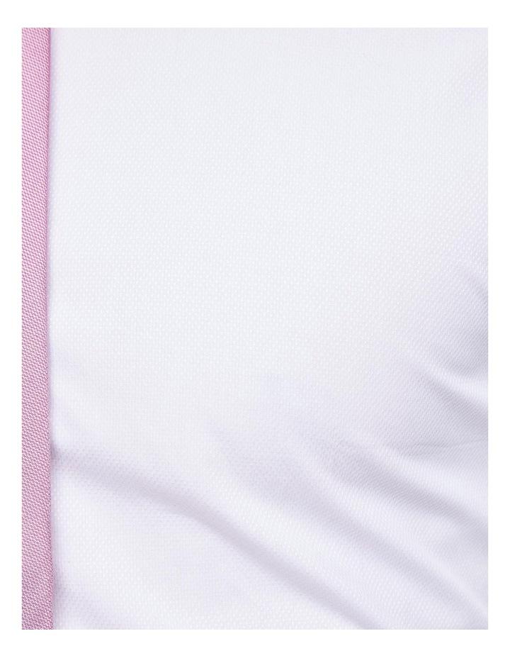Islington French Cuff Dobby White Shirt image 6