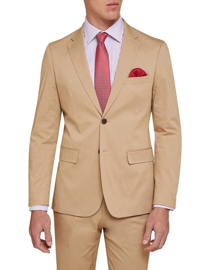 Byron Cotton Stretch Suit Jacket image 1