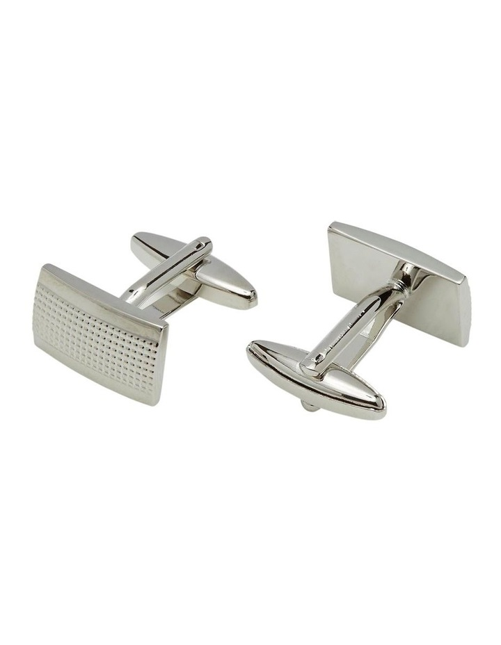 Silver Dots Cuff Links image 1