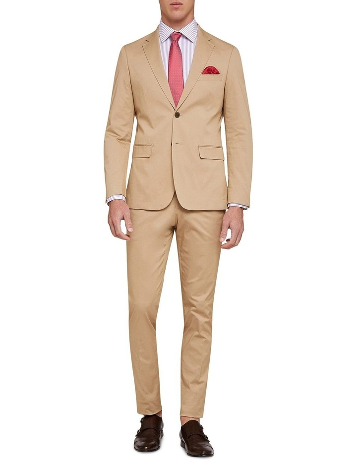 Byron Cotton Stretch Suit Trousers image 5