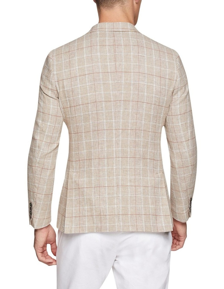 Blake Linen Cotton Checked Blazer image 3