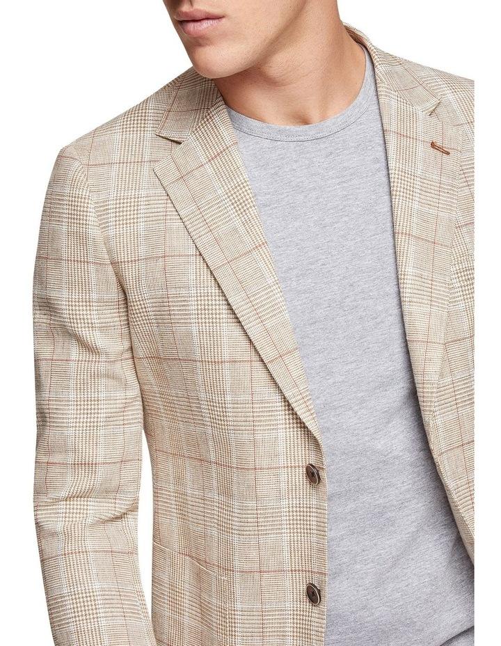 Blake Linen Cotton Checked Blazer image 4