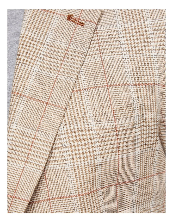 Blake Linen Cotton Checked Blazer image 6