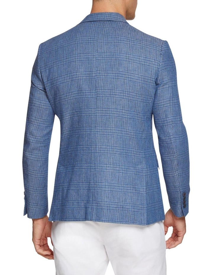 Blake Linen Cotton Checked Blazer image 3