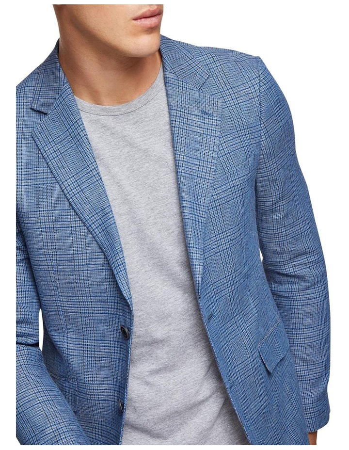 Blake Linen Cotton Checked Blazer image 4