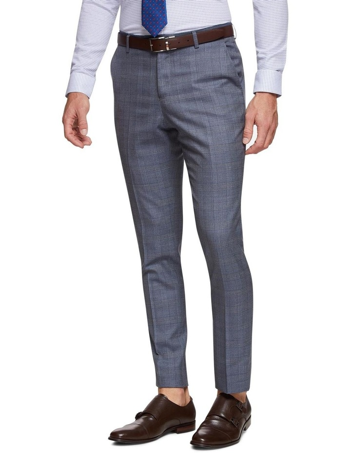 Byron Checked Luxury Suit Trousers image 2
