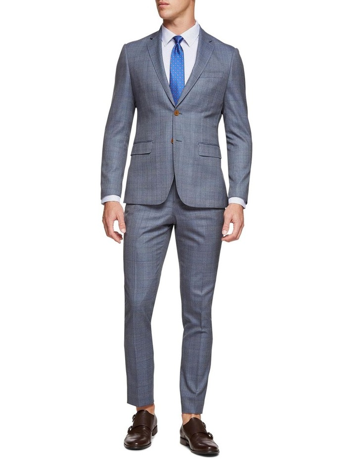 Byron Checked Luxury Suit Trousers image 5