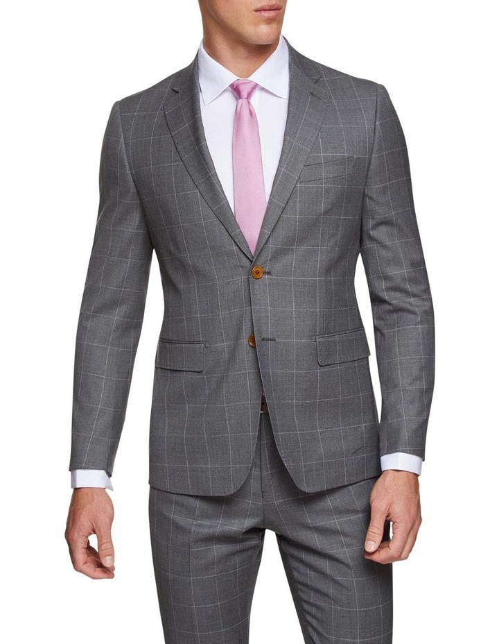Byron Wool Stretch Check Jacket image 1