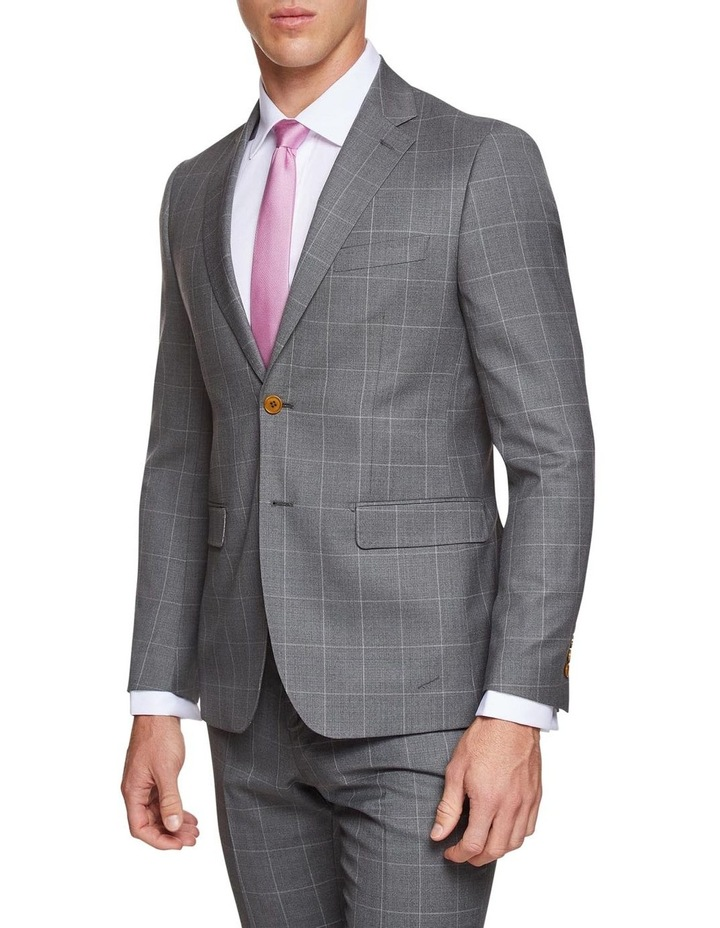 Byron Wool Stretch Check Jacket image 2