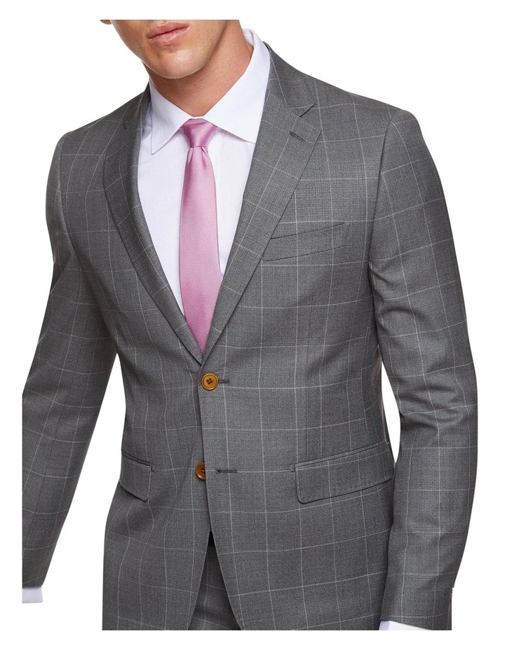 Byron Wool Stretch Check Jacket image 4