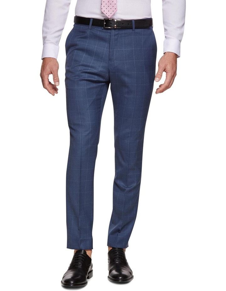 Hopkins Wool Stretch Check Trousers image 1