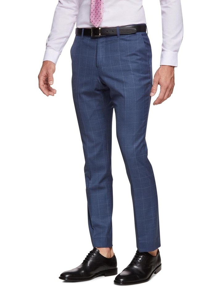 Hopkins Wool Stretch Check Trousers image 2