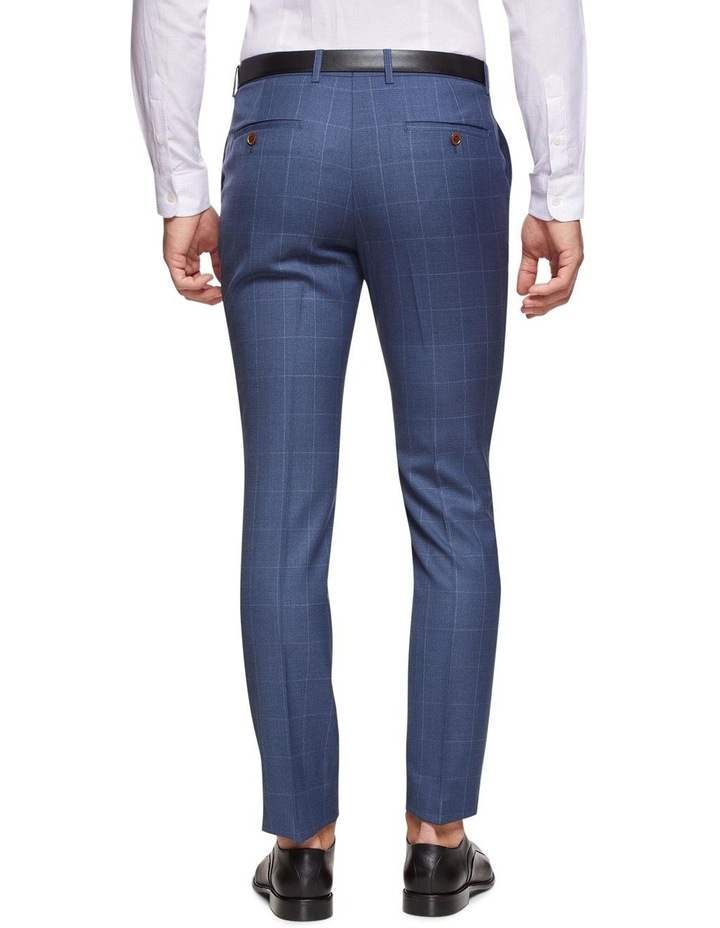 Hopkins Wool Stretch Check Trousers image 3