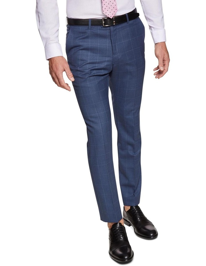 Hopkins Wool Stretch Check Trousers image 4