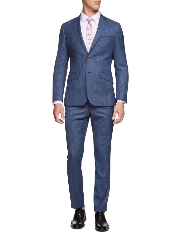 Hopkins Wool Stretch Check Trousers image 5