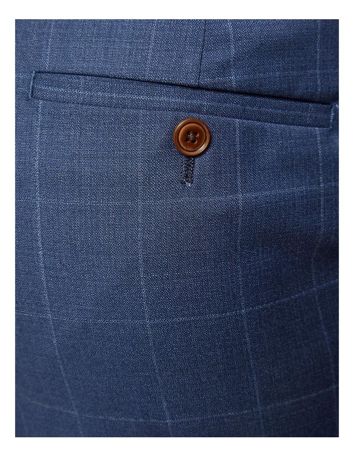 Hopkins Wool Stretch Check Trousers image 6