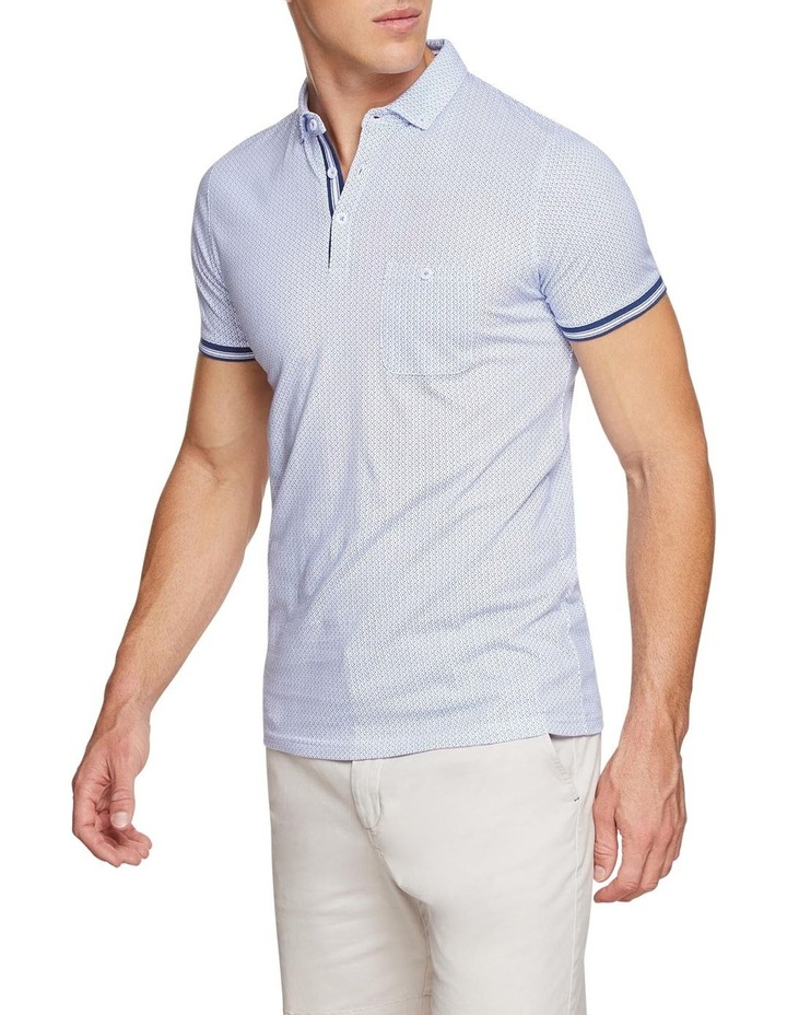 Percy Geo Printed Polo image 2