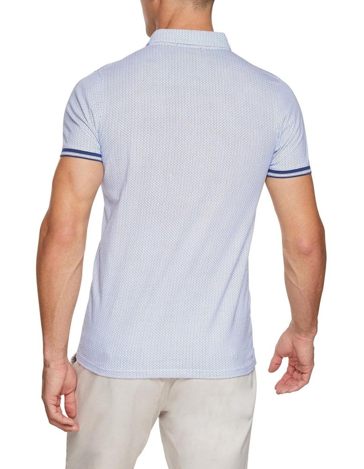 Percy Geo Printed Polo image 3