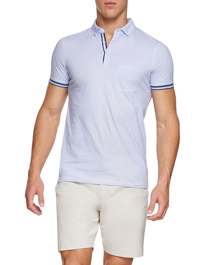 Percy Geo Printed Polo image 5