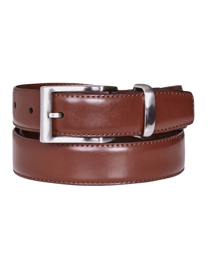 Arlen Leather Belt Brown image 1