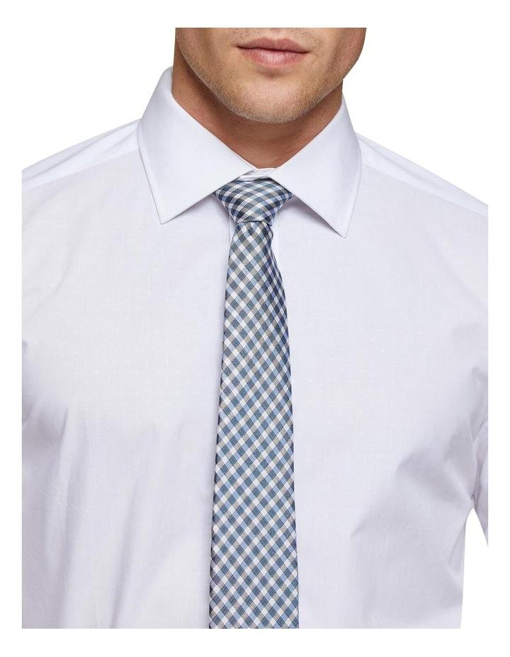 Islington White Dobby Shirt X image 4