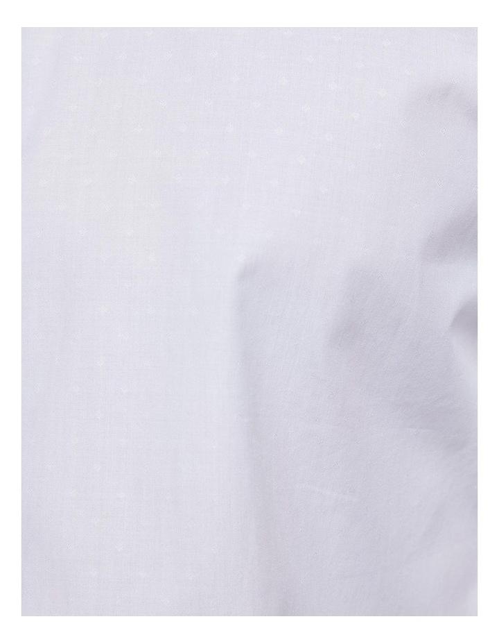Islington White Dobby Shirt X image 6