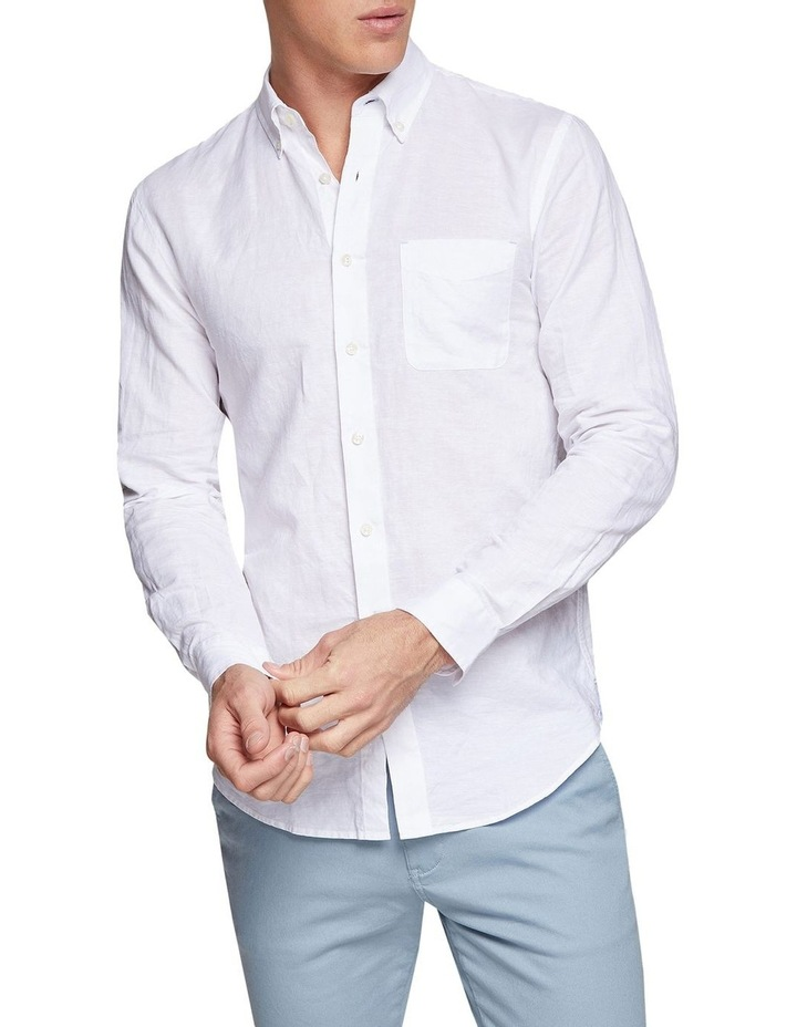 Uxbridge Linen Cotton Shirt image 1