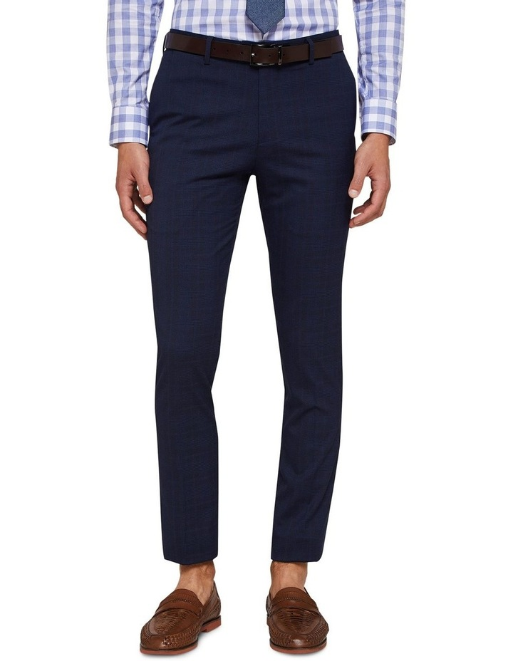 Auden Eco Checked Suit Trousers image 1