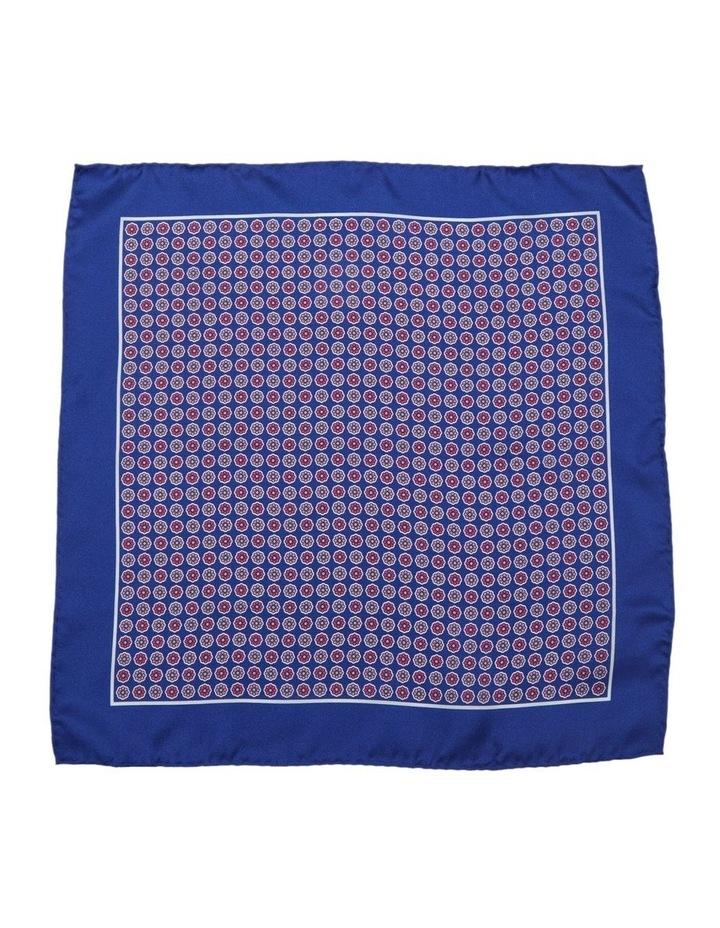Floral Grid Pocket Square image 1