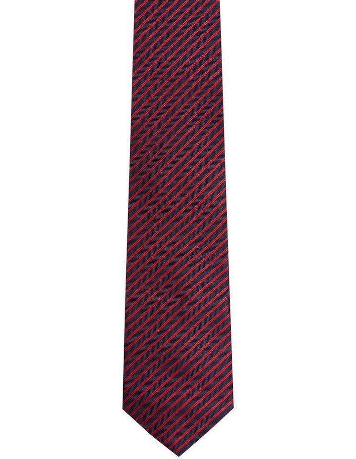 Silk Herringbone Stripe Tie image 1