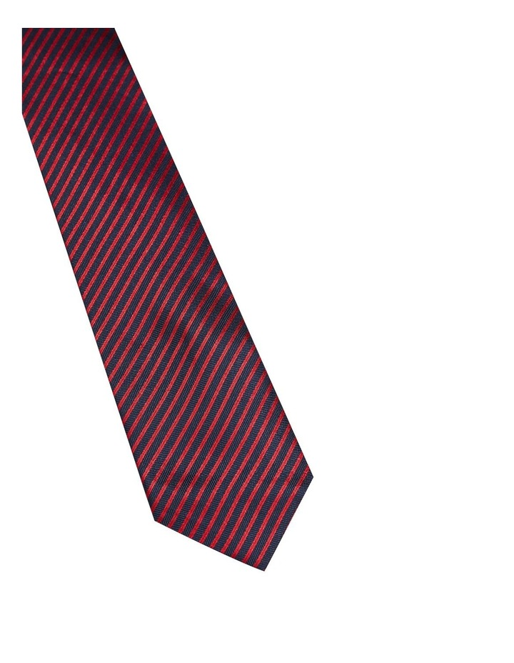 Silk Herringbone Stripe Tie image 2