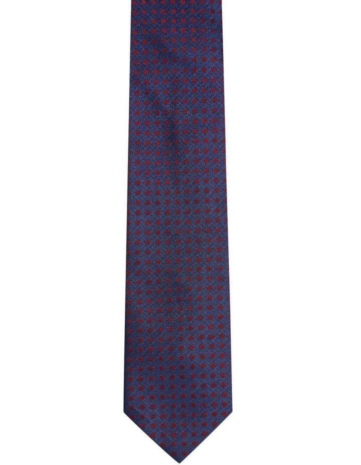 Silk Texture With Spot Tie image 1