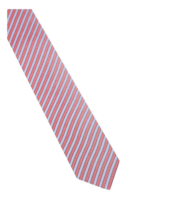 Retro Stripe Silk Tie image 2