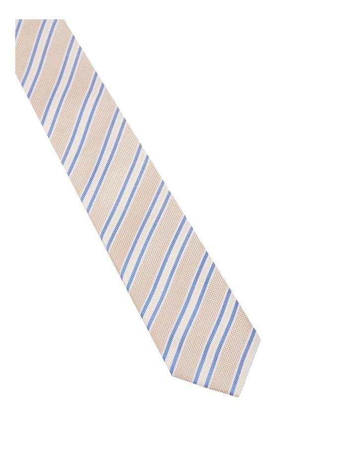 Stripe Hopsack Silk Tie image 2