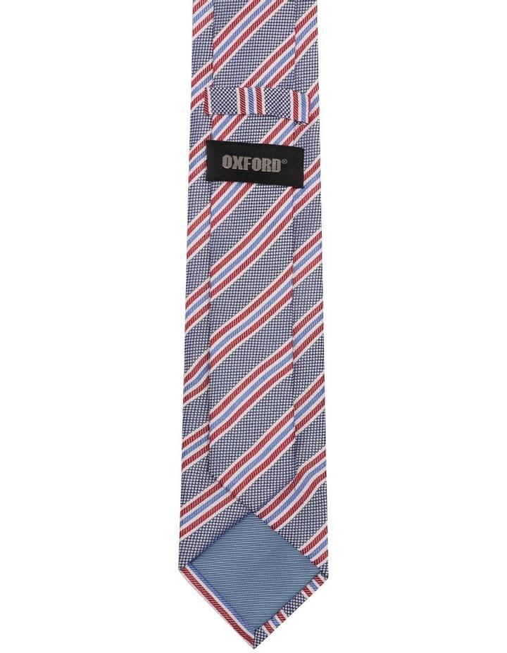 Stripe Hopsack Silk Tie image 3