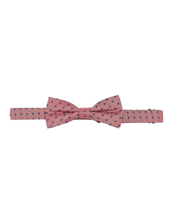 Polka Dot Silk Bow Tie image 1