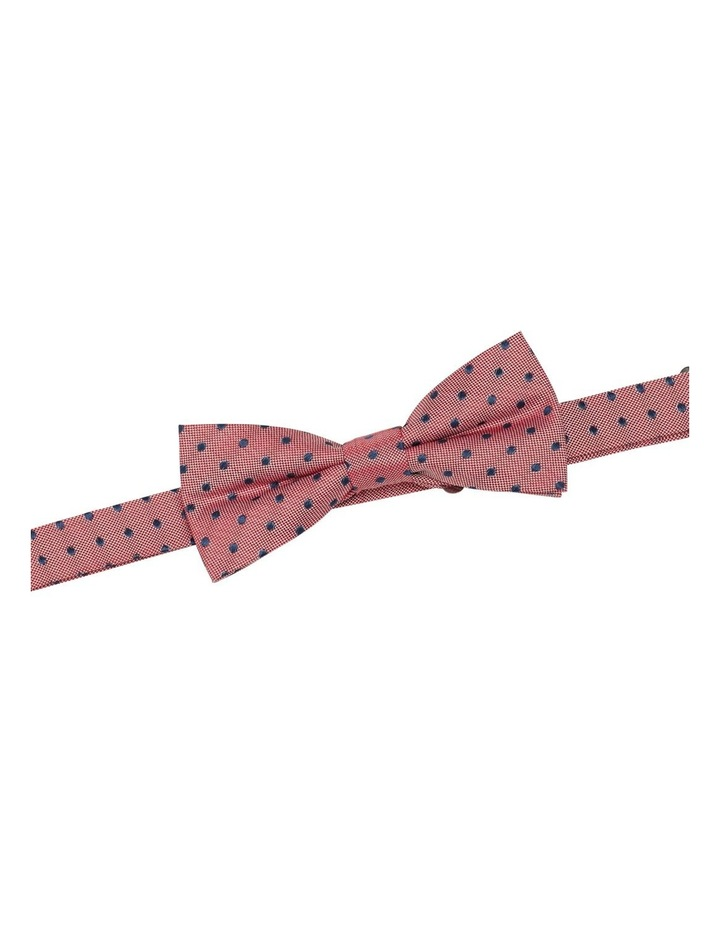 Polka Dot Silk Bow Tie image 2