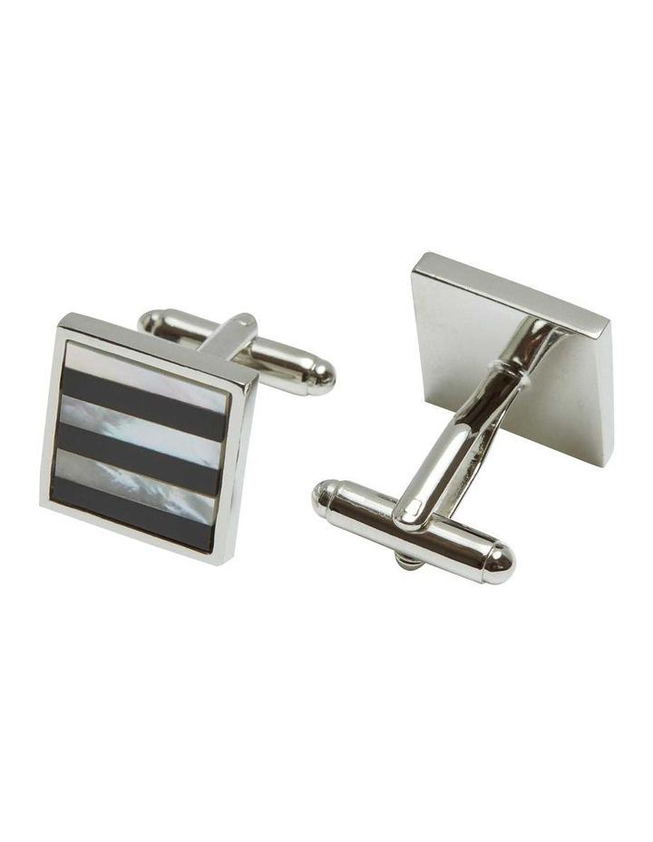 Stripe Cuff Link Set image 1