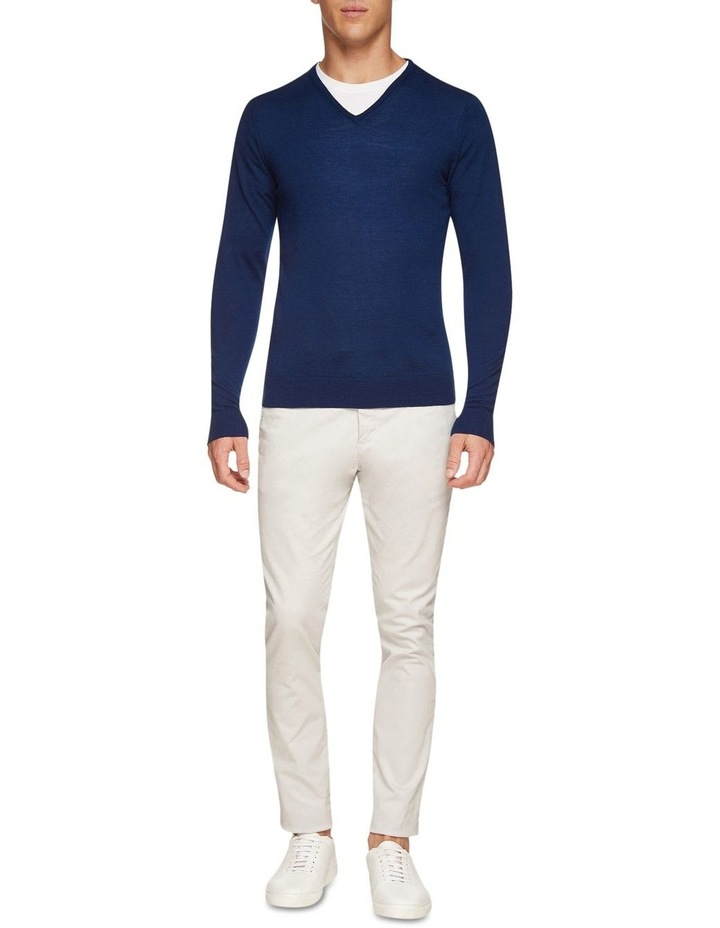 V-Neck Pure Merino Wool Pullover image 5
