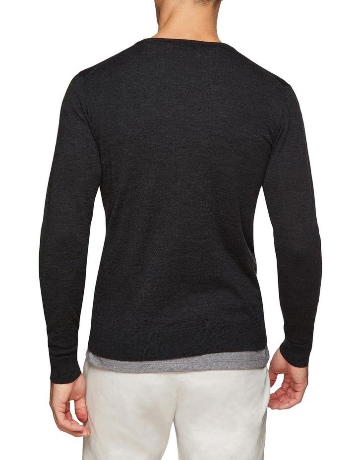 V-Neck Pure Merino Wool Pullover image 3