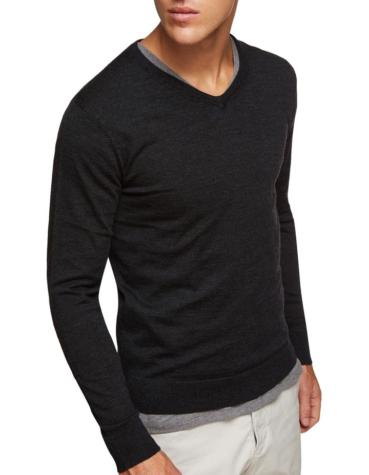 V-Neck Pure Merino Wool Pullover image 4