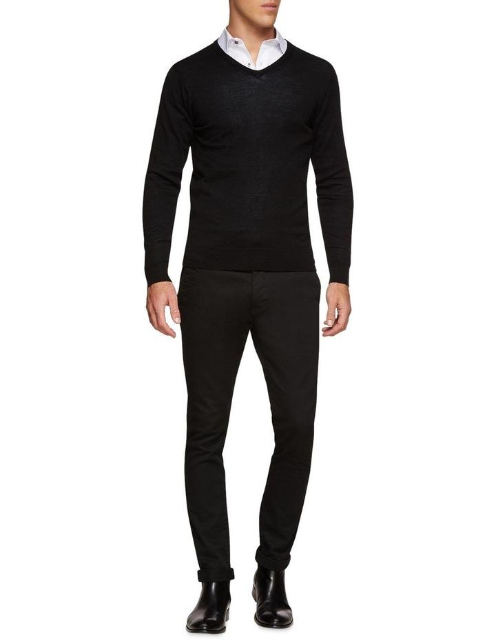 V-Neck Pure Merino Wool Pullover image 5