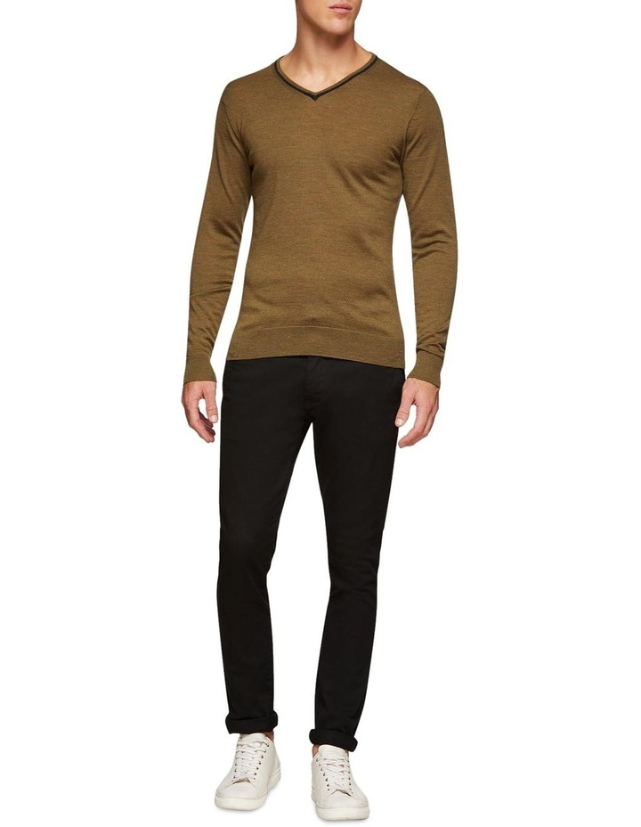 Perry Tipping V-Neck Wool Pullover image 5