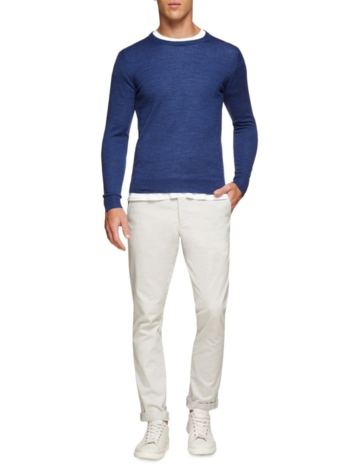 Crew Neck Wool Blend Pullover image 5