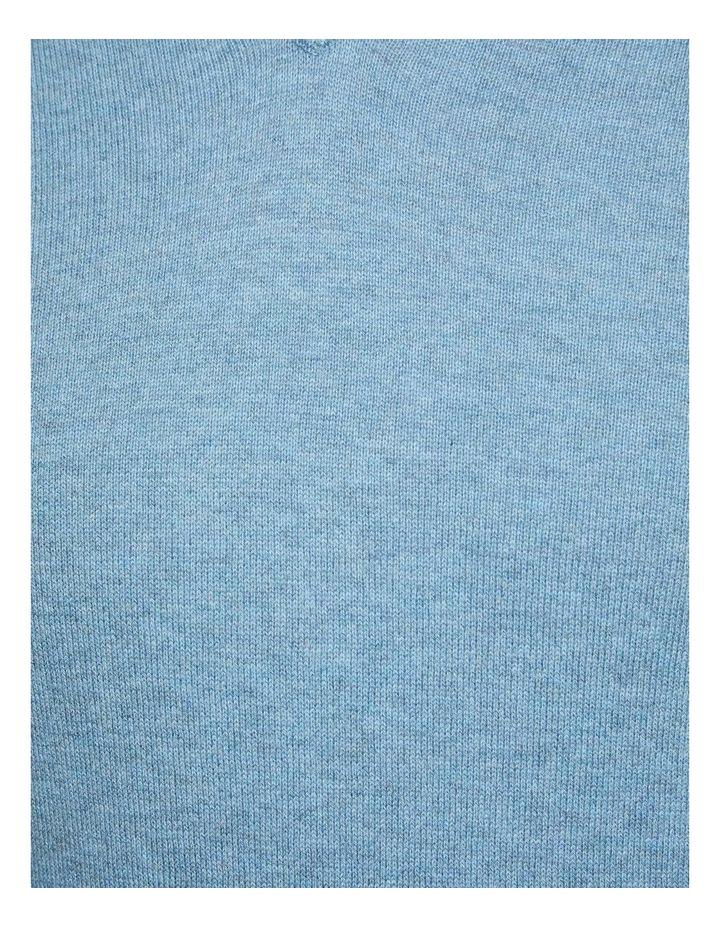 Cotton V-Neck Pullover image 6