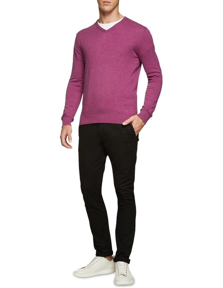 Cotton V-Neck Pullover image 5