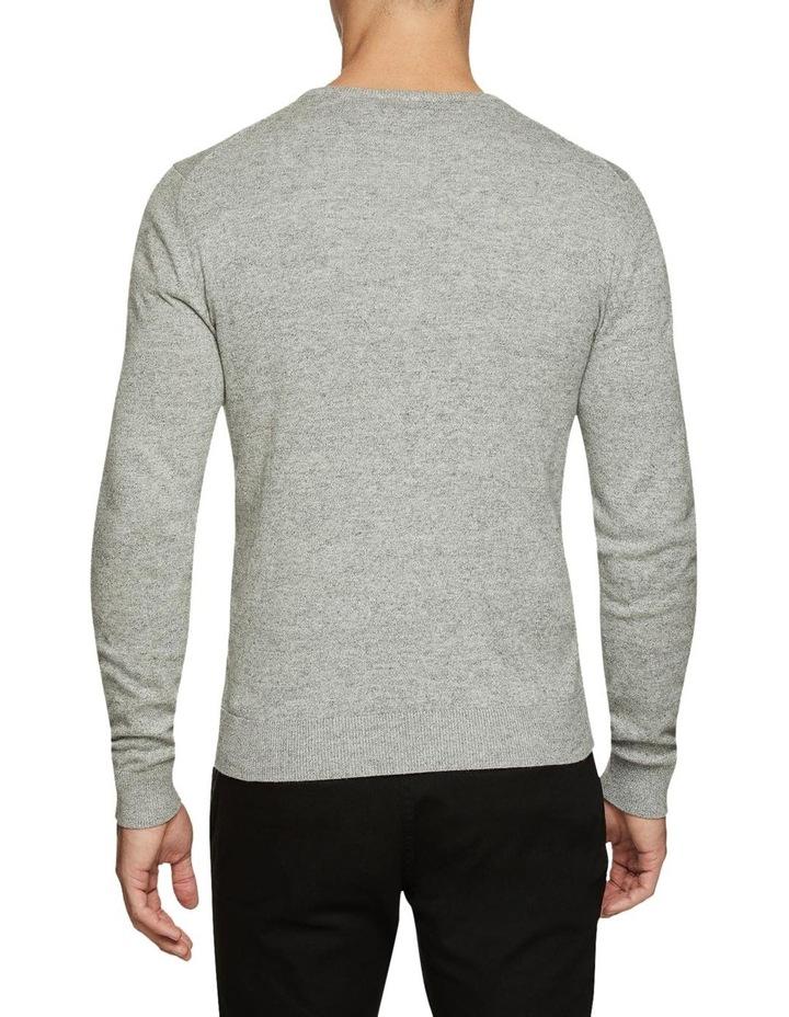 Cotton V-Neck Pullover image 3