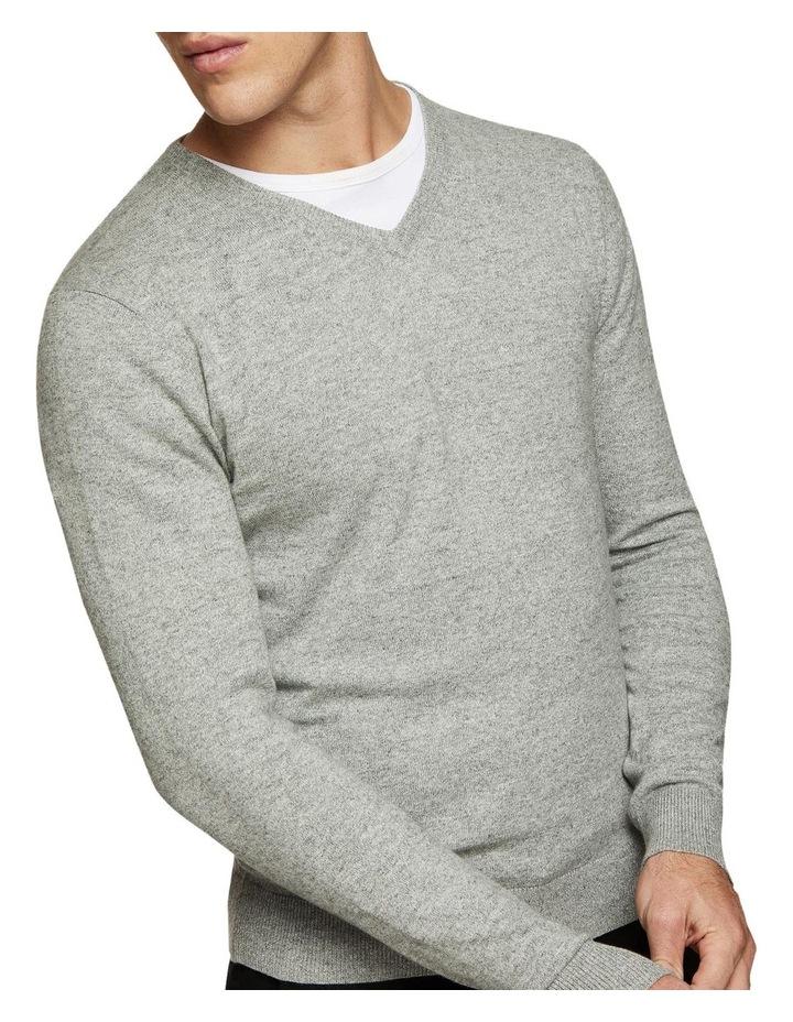Cotton V-Neck Pullover image 4